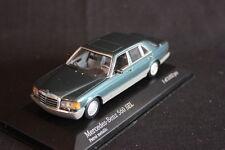 Minichamps Mercedes-Benz 560 SEL 1989 - 1991 1:43 Petrol Metallic (JS)