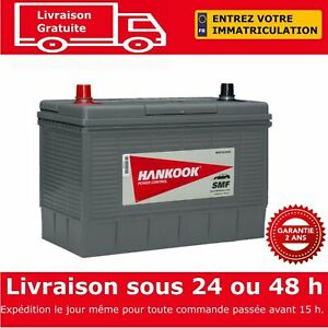 Hankook-Batterie-de-Voiture-12V-110AH-MF31-750