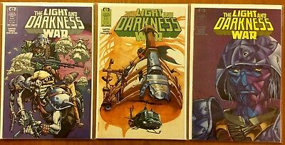 The Light And Darkness War #1 1988 Epic//Marvel Comics NM White Pages