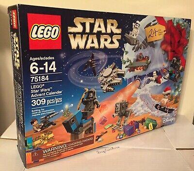STAR WARS LEGO 75184 ADVENT CALENDAR BRAND NEW FACTORY SEALED