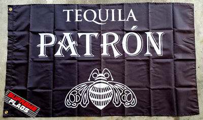 Tequila Don Julio Flag Banner Alcohol Liquor Bar Man Cave Mexico Black 90 x 150 cm