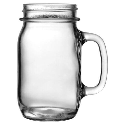 Anchor Hocking Glass Drinking Mug 6 pack 16 oz,