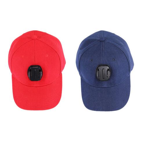 Adjustable Baseball Hat Cap w// Mount for Gopro Hero 5 4 SJCAM SJ5000 Camera