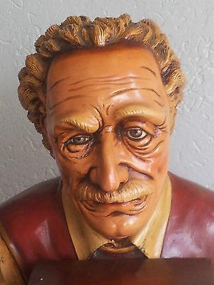Art Qualified Albert Einstein 80er Jahre Skupltur 140 Cm Kundenstopper Aufsteller Werbung Buch