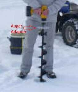 Details about Ice Auger Adapter