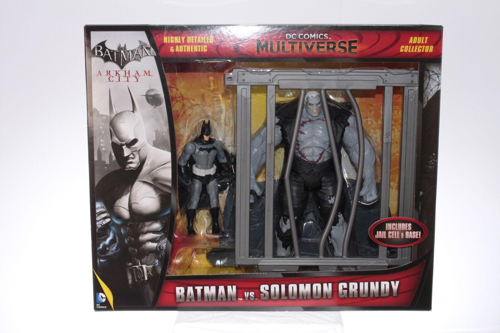 Mattel  CFB22 - Batman v Solomon Grundy - Arkham City - A+/A
