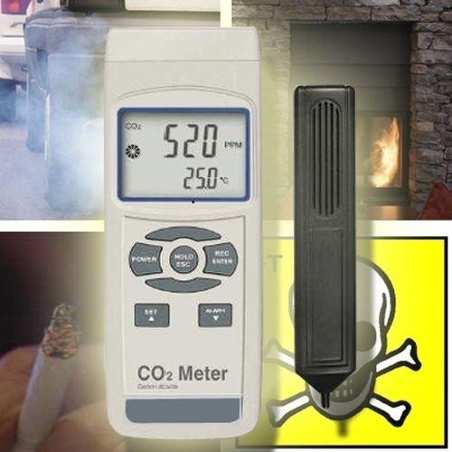Dioxyde de Carbone Appareil de mesure co2 Détecteur de gaz d/'échappement co6