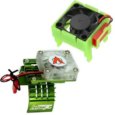 Stampede VXL 2Wd Powerhobby Cooling Fan FOR Traxxas Velineon ESC Red 4WD