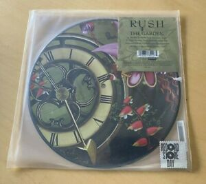 SEALED-RUSH-THE-GARDEN-10-039-PICTURE-DISC-2013-SOLD-OUT-RSD-NEIL-PEART-GEDDY-LEE