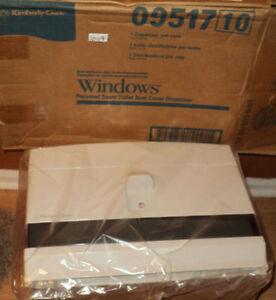 Kimberly-Clark Windows Personal Seats Toilet Seat Cover Dispenser 09517