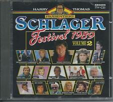 V/A - SCHLAGER FESTIVAL 1989 VOLUME 2 CD 19TR (ARCADE) CLAUDIA JUNG, ANDY BORG