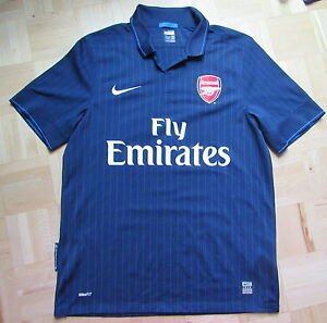 outlet store sale 10f67 2a5ca Details about ARSENAL LONDON away shirt jersey NIKE 2009-2010 GUNNERS  PERFECT adult SIZE M