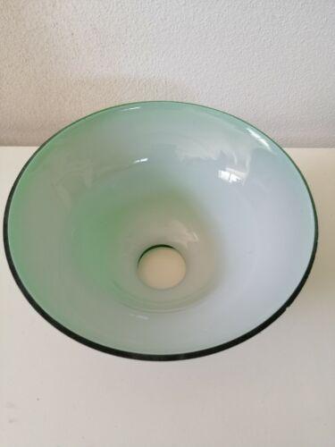 Vetro ricambio per lampada campana blu lampada ministeriale o applique  d.19