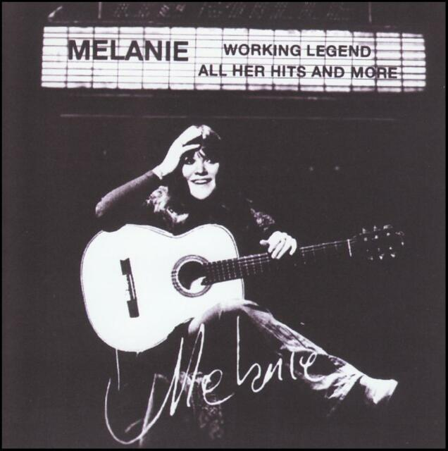 MELANIE - ALL HER HITS AND MORE : WORKING LEGEND CD ~ GREATEST / BEST OF *NEW*