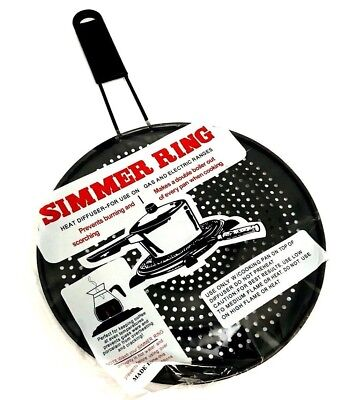 """18 Cm Difusor De Calor Cocina//Anillo Simmer 7/"""""""