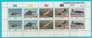 Afrique Du Sud De 1990 ** Cachet Minr. 252-256 2 Fois 5er Rayures Luftwaffe-afficher Le Titre D'origine