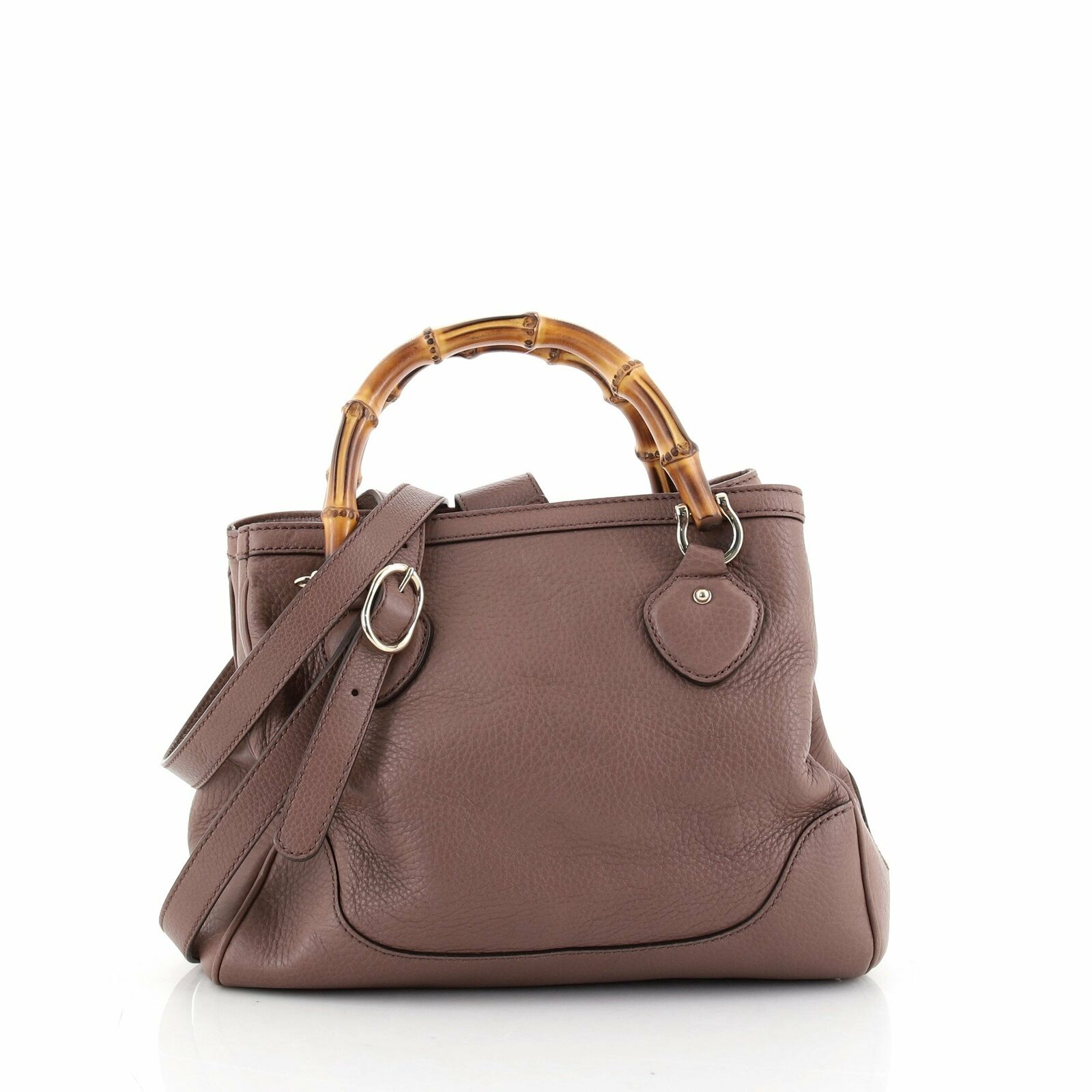Gucci Diana Bamboo Top Handle Tote Leather Small - image 1