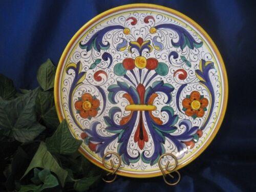 Deruta Italy Italian Pottery 12 Ricco Plate Serving Platter