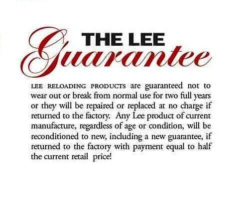# 91025 Lee Precision Collet Neck Sizer Die for 375 H/&H Magnum NEW!