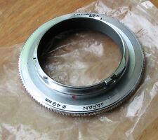 genuine Minolta MD mc sr reverse ring   49mm filter thread macro coupler
