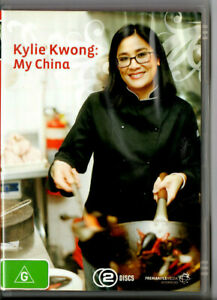 Kylie-Kwong-My-China-DVD-two-Discs-Region-Four-R4-Cooking-Chinese-Food-Aussie