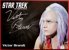 STAR TREK TOS 50th Victor Brandt as Tongo Rad, LIMITED EDITION Autograph Card