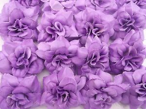 16 Lila Rosen Rosenbluten 4 5 Cm Seidenblumen Deko Hochzeit