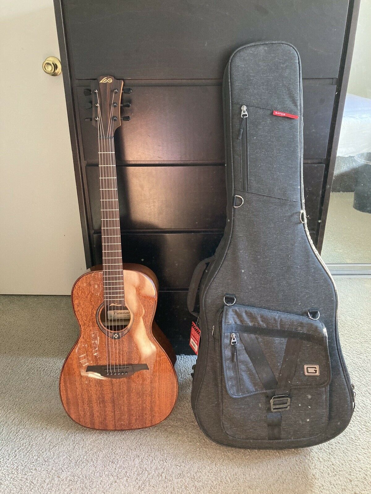 Lag Tramontane T200a Acoustic Guitar For Sale Online Ebay