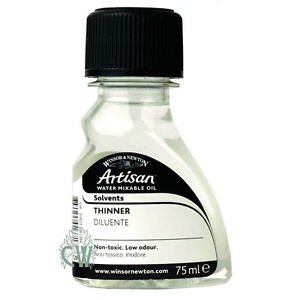 Details about Winsor & Newton Artisan Water Mixable Oil Paint Thinner 75ml   Artists