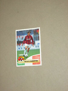 Carte panini official football cards 1994 ALBERTINI MILAN AC ITALIA CALCIO