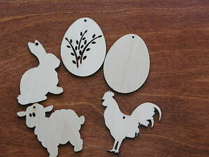 Wooden-Easter-decoration-for-crafts-ornaments-gift-tags-blank-shapes-x10