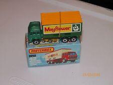 1977 MATCHBOX MERCEDES BENZ CONTAINER TRUCK MAYFLOWER #42 FREE U.S SHIPPING