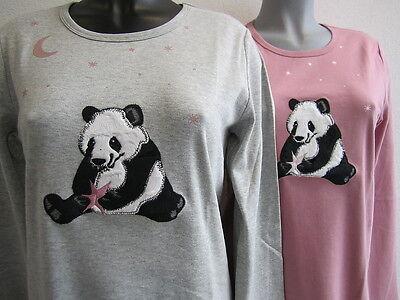 Triumph Nachthemd * Panda Love NDK 01 * grau / rosebloom mit süßem Pandabär Neu