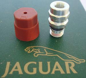 JAGUAR XJS 92 93 94 intake manifold to A//C vacuum line check valve stepped hose