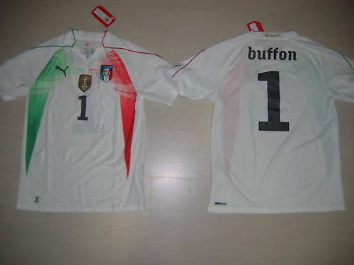 0898 16 Jahre Italien  T-Shirt Kind Torhüter Junior Trikot Jersey