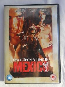 Antonio BanderasONCE UPON A TIME IN MEXICORegion 2 DVD - <span itemprop='availableAtOrFrom'>Bridgnorth, United Kingdom</span> - Antonio BanderasONCE UPON A TIME IN MEXICORegion 2 DVD - Bridgnorth, United Kingdom