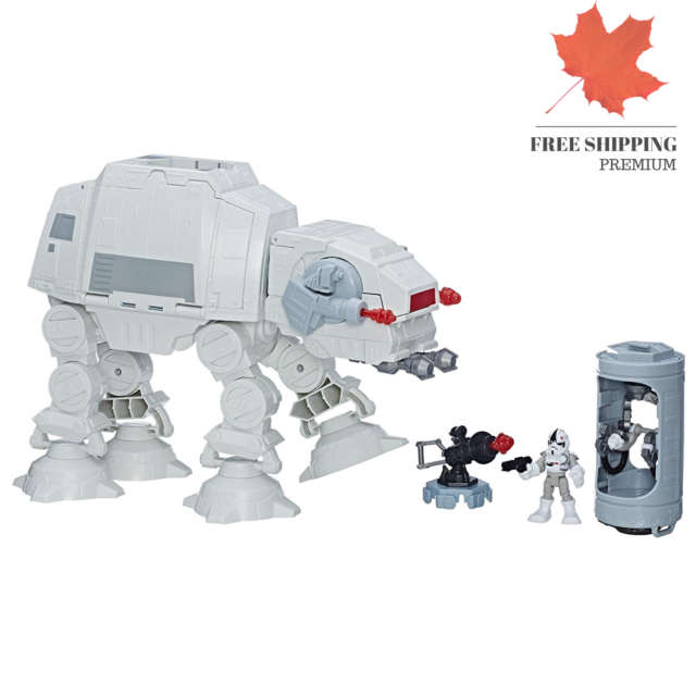 Star Wars Galactic Heroes Imperial at-at Fortress 🇨🇦 FAST & FREE