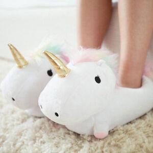 c675e9584823 Smoko 832 Unicorn Light up Slippers One Size Fits Most Women 12 Plush  Footwarmer