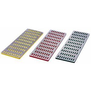 Am-Tech 3 Pieces Professional Diamond Stone Sharpening Set Coarse Grade