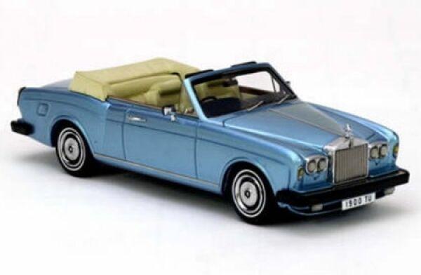 Rolls Royce Corniche Congreenible (bluee) 1977