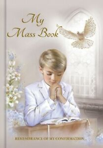 Confirmation Prayer Book Boys Confirm Mass Book Special Confirmation Gifts Boys