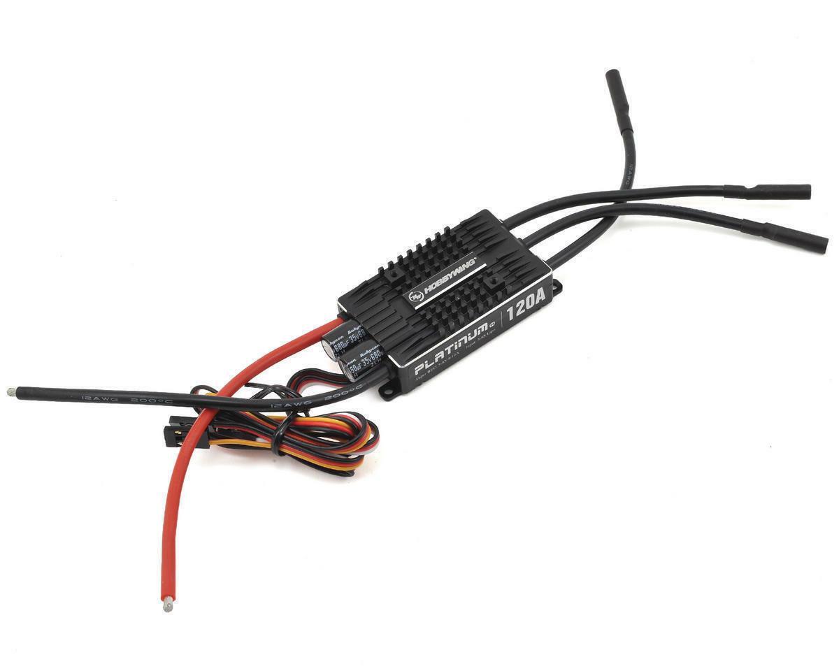 HWA30203401 Hobbywing Platinum Pro 120A V4 120 amp ESC una