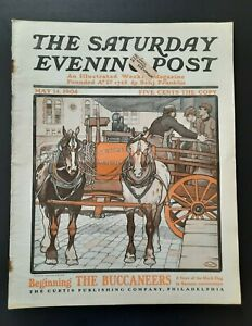 Saturday Evening Post Magazine May 14 1904 Edward Penfield Henry Hyde