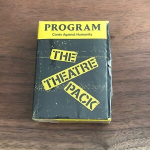cards against humanity the theatre pack expansion pack new sealed 817246020484 ebay. Black Bedroom Furniture Sets. Home Design Ideas