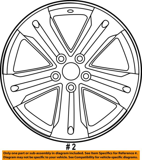 2013 Toyota Prius Wheel