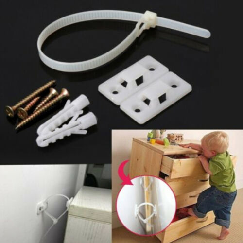 Baby safety anti-tip straps for flat TV and furniture wall strap lock protect ZN