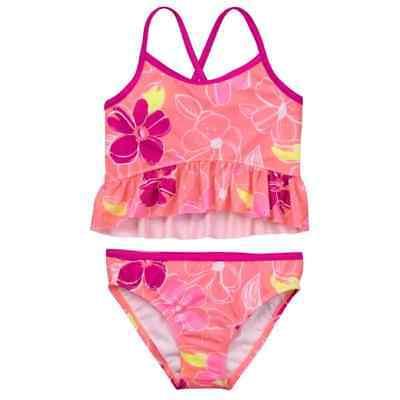 Gymboree Girl Swim Ruffle 2-Piece Swimsuit 7 8 10 12 14 NWT UPF 50+