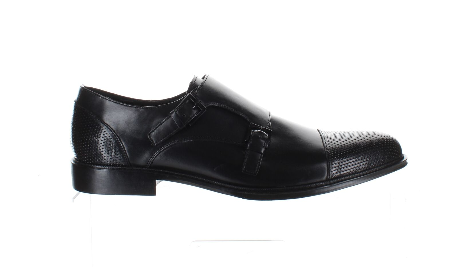 Kenneth Cole Mens Zac Monk Black Loafers Size 11 (1723616)