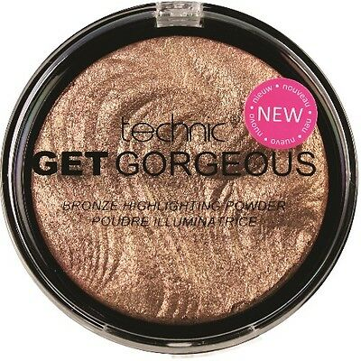 2xTechnic Get Gorgeous Highlighting Illuminating Bronze Powder Highlighter (031)