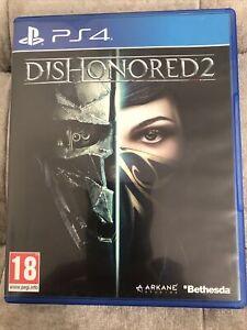 DISHONORED 2 PS4 in buonissima condizione